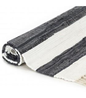 Scaune de bucătărie 4 buc., material textil, alb crem