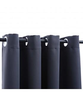 Pat 140 x 200 cm, piele artificială, negru
