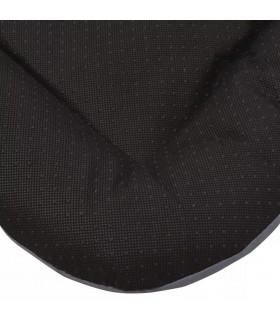 Huse de pernă cu aspect de pânză, 50 x 50 cm, negru, 4 buc.