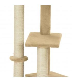 Huse de pernă din bumbac, 50 x 50 cm, bej, 4 buc.