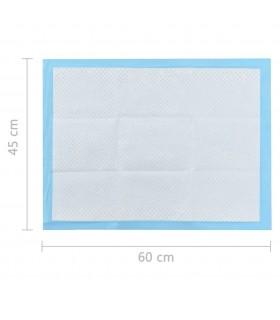 Huse de pernă din bumbac, 50 x 50 cm, gri, 4 buc.
