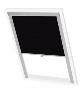Ușă pentru Insecte 4 Părți Perdea Plasă 220 x 100 cm Negru