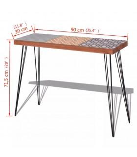 Masă de bucătărie, lemn masiv sheesham, 82 x 80 x 76 cm