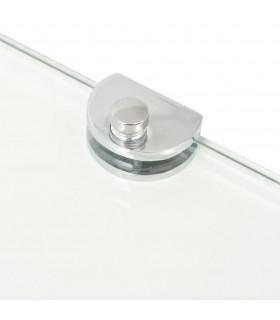 Dulap de depozitare tip cub, cu 6 compartimente, alb