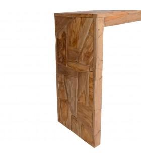 Sanie pliabila pentru zapada cu spatar, lemn, 110 cm