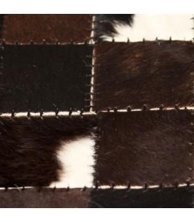 Set 6 scaune bar piele artificială Maro