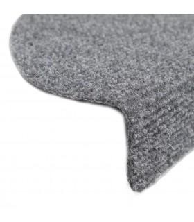 Ansamblu din sisal pentru pisici 122 cm pluș gri cu urme de lăbuțe